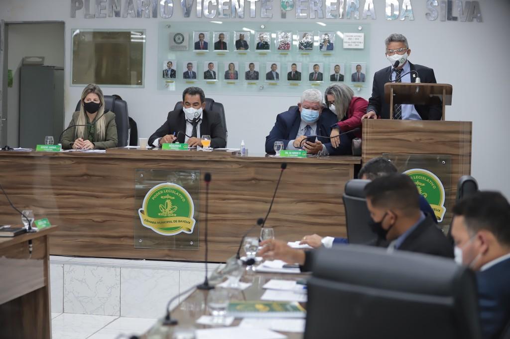 Câmara aprova censo para servidores da prefeitura que tomaram a vacina da Covid-19 e melhorias em infraestrutura